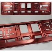 """Numerio rėmelis """"Raudonas (metallic)"""" M-6605"""