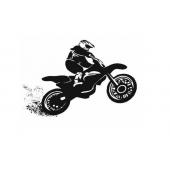 """Lipdukas """"Motociklininkas"""""""