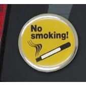 """Lipdukas """"No smoking"""" apvalus 1/03063"""