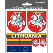 """Lipdukas """"Lietuviška atributika"""""""