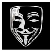 """Lipdukas """"Anonymous kaukė"""""""
