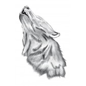 "Lipdukas ""Howling Wolf"" 1/11224 (44x67 cm.)"