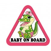 "Lipdukas "" Baby on Board ""  1/24109"