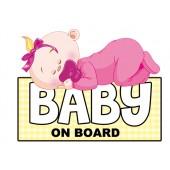 "Lipdukas "" Baby on Board  ""  1/24130"