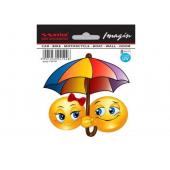 "Lipdukas ""Emoji su skėčiu"""