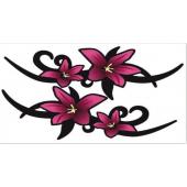 """Lipdukas """"Rausvos gėlės"""""""