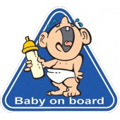 "Lipdukas "" baby on board ""  1/01002"
