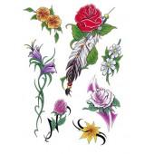 """Lipdukas """"Gėlių rinkinys"""" 1/25046"""