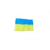 """Iškilus lipdukas """"Ukrainos vėliavėlė"""""""