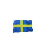 """Iškilus lipdukas """"Švedijos vėliavėlė"""""""