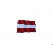 """Iškilus lipdukas """"Latvijos vėliavėlė"""""""