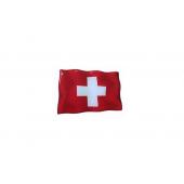 """Iškilus lipdukas """"Šveicarijos vėliavėlė"""""""