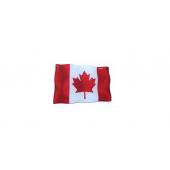 """Iškilus lipdukas """"Kanados vėliavėlė"""""""