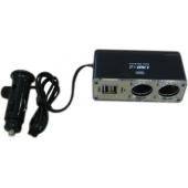 Skirstytuvas (2 lizdai + 2 USB)