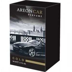 AREON AUTO ORO GAIVIKLIS CAR PERFUME 50ML - GOLD