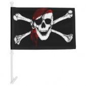 Piratų vėliava automobiliui