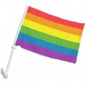Homoseksualų vėliava automobiliui