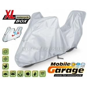 Uždangalas. XL motorcycle BOX (I: 240-265 x A: 135 x P: 107 cm)