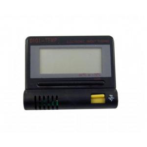 Lauko ir vidaus termometras su laikrodžiu