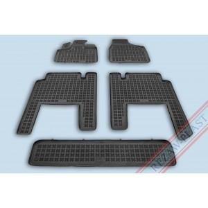 Guminiai kilimėliai Lancia-Chrysler VOYAGER V (nuo 2006—>), 7 vietų