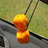 """Pakabukas """"Kauliukai"""" oranžinis"""