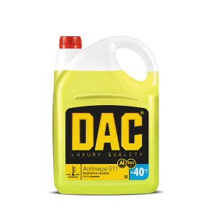 "Antifrizas ""DAC G11 Aluminium"" 5L"