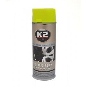 Nulupami dažai K2 PRO (geltoni)