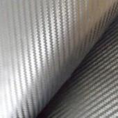 Karbonas - sidabrinis languotas (10x100cm)